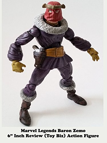 "Marvel Legends BARON ZEMO 6"" inch Review Toy Biz action figure"