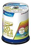 三菱化学メディア Verbatim DVD-R(CPRM) 1回録画用 120分 1-16倍速 100枚スピンドルケース 100P インクジェットプリンタ対応(ホワイト) ワイド印刷エリア対応 VHR12JP100V4 ランキングお取り寄せ