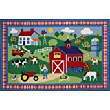 Country Farm Fun Rug