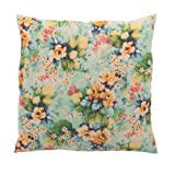 Ian Snow Hydrangea Linen Print Cushion Cover, Multi-Color