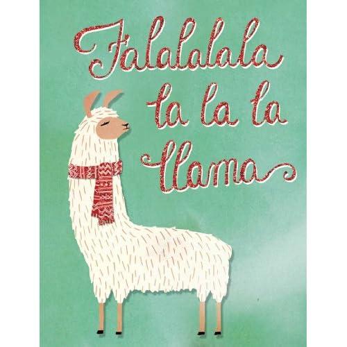 Amazon.com : Molly and Rex Fa La La Llama Holiday Greeting Cards