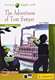 The Adventures of Tom Sawyer - Buch mit CD-ROM und Web Activities (Black Cat Green Apple - Step 1)
