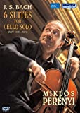 J.S.バッハ:無伴奏チェロ組曲 BWV 1007-1012 (全曲) (J.S.Bach / 6 Suites For Cello Solo BWV 1007-1012 / Miklos Perenyi) [DVD] [日本語解説書付]