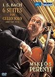 J.S.バッハ:無伴奏チェロ組曲 BWV 1007-1012 (全曲) (J.S.Bach / 6 Suites For Cello Solo BWV 1007-1012 / Miklos Perenyi) [DVD] [日本語解説書付]