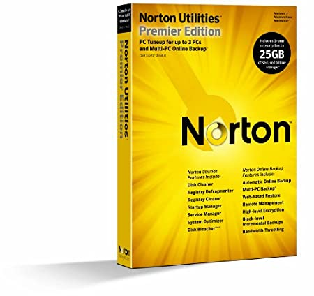 Norton Utilities Premier 14.5 1-User/3PC [Old Version]