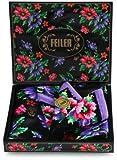 (フェイラー)FEILER 【フェイラー/FEILER】 ポピーズ ギフトセット(ハンカチ&ミニトート) 0273710S003  黒 ハンカチ