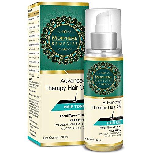 Morpheme Advanced Therapy Hair Oil - 100ml (Anti Hair Fall, Hair Loss & Hair Repair)