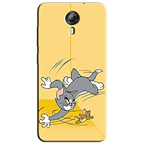 FIGHTING CAT & MOUSE BACK COVER FOR MICROMAX CANVAS XPRESSS