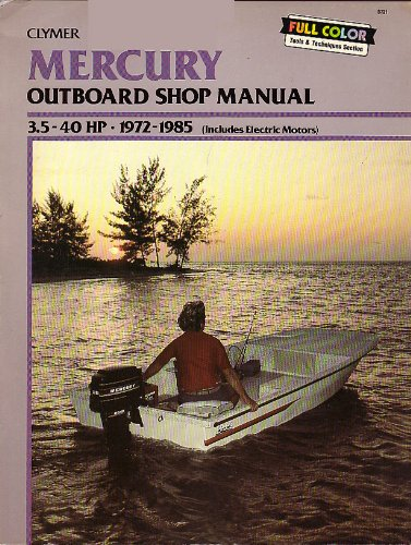 Mercury Outboard Shop Manual (3.5-40 HP - 1972-1985)