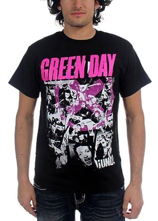 Green Day - - Herren His Story T-Shirt in Schwarz, Large, Black