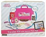 App Gadgets Pink Girls Traveler Kit with Bonus iPad App (iPad not Required)