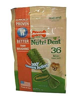 Nylabone Nutri Dent Original Flavored Mini Bone Dog Treats