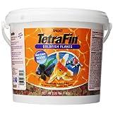 Tetra 77006 TetraFin Goldfish Flakes, 2.20-Pound, 5-Liter
