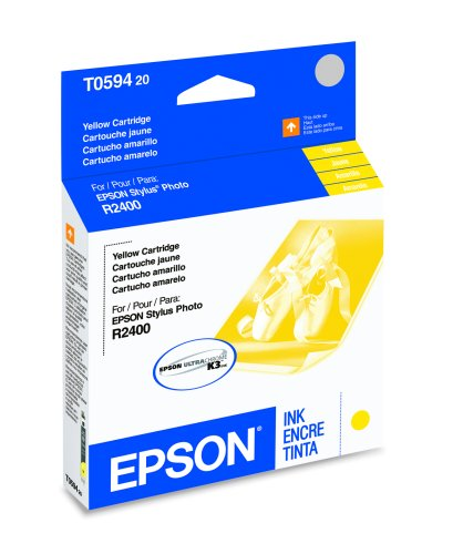 Epson T059420 Ink Cartridge -Yellow -Inkjet -520 Page -1 Each