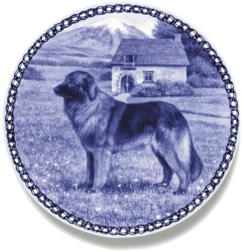 estrela-mountain-dog-lekven-design-dog-plate-195-cm-761-inches-made-in-denmark-new-with-certificate-