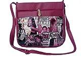 Good Life Stuff Printed Design Sling Bag in Hot Pink For Women (GLSSL-R005)