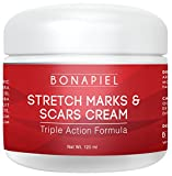 Stretch Marks and Scars Cream - Moisturizing Body Cream Treatment to Remove & Prevent Old and New Marks and Scars - Natural & Organic For Pregnant Women, After Birth, & Men - 4 Oz