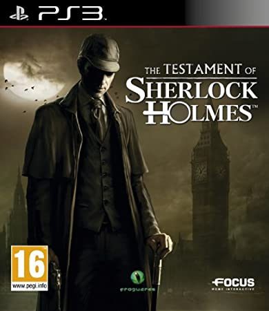 Ubisoft The Testament of Sherlock Holmes, PS3, No específicado
