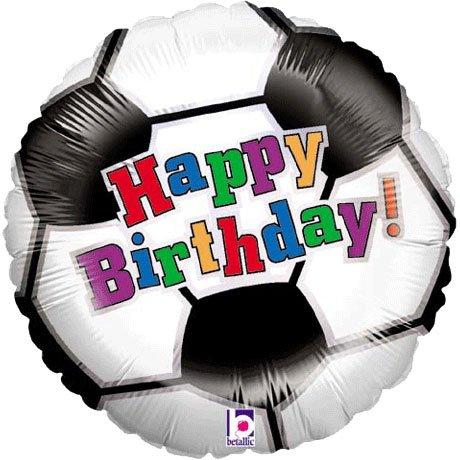 18 Soccer Ball Birthday (1 ct