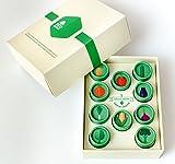 EcoFarms Organic Vegetable Heirloom Seeds Kit - Great Gift...