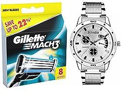 Gillette Mach3 - 8 cartridges pack