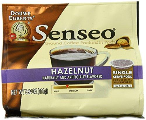 Senseo Vienna Hazelnut Waltz Coffee, 16-Count Pods (Pack of 6) (Senseo Hazelnut Coffee Pods compare prices)