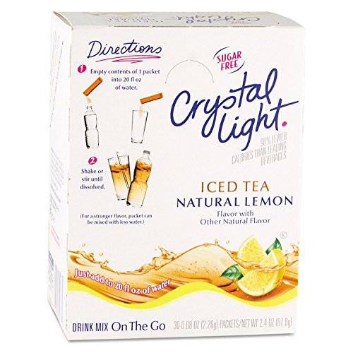 Crystal Light On The Go, Iced Tea (16 Oz. Packets, 30 Pk.)