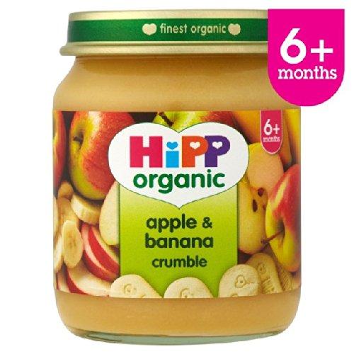 HiPP Organic Apple & Banana Crumble 125g
