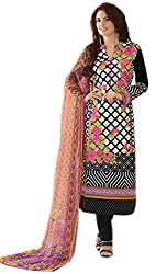 Lebaas Black Original Lawn Cotton With Embroidery(With Discount and Sale Offer)