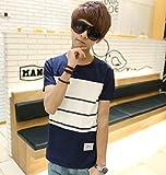 (フルールドリス)Fluer de lis パネルボーダーTシャツ カットソー トップス tシャツ アパレル メンズ ファッション 服 232-t1-2946