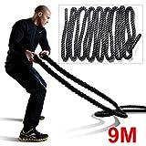 Popamazing 38mm Battling Power Training Rope Fitness Exercise Muscel Man