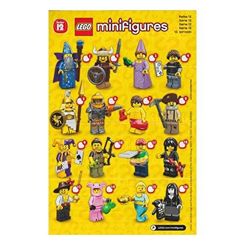 レゴ ミニフィギュア シリーズ12 LEGO minifigures #71007 全16種フルコンプセット ミニフィグ ブロック 積み木