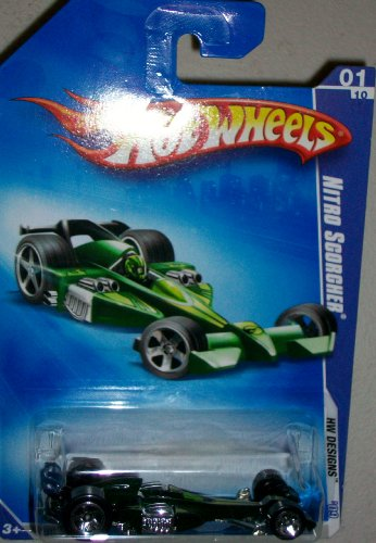 "HOT WHEELS 2009 Nitro Scorcher ""HW Designs"" 097/190 - 1"