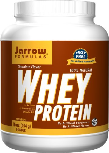 Jarrow Formulas Whey Protein Chocolate, 1 Pound