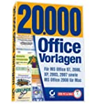 20.000 Office-Vorlagen