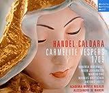 echange, troc  - Haendel - Caldara: Carmelite Vesper 1709