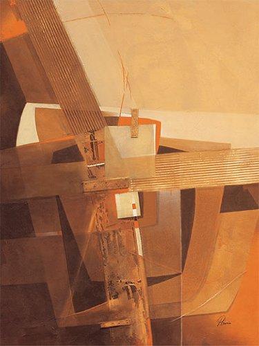 "Eurographics PEG1003 Stampa artistica ""Glowing Forms"" di Pedro Garcia 60x80 cm"
