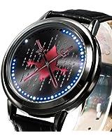 Sword Art Anime Online Led Watch Cool Black Alloy Wrist Watch Cosplay