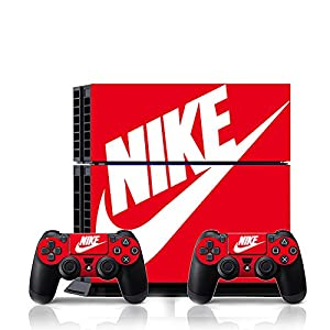 [PS4] ShoeBox #2 Nike Logo Shoe Box Whole Body VINYL SKIN STICKER DECAL COVER for PS4 Playstation 4 System Console and Controllers