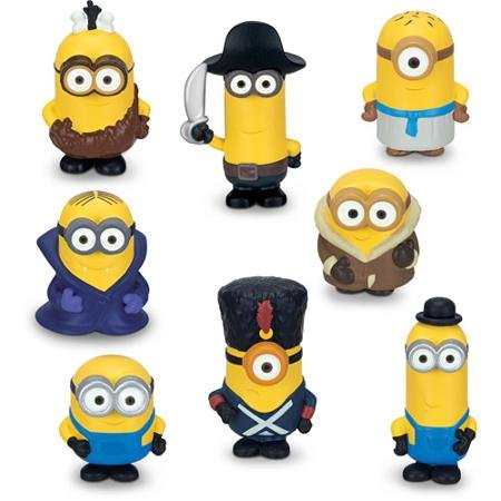 8-Pack Micro Minions Figure