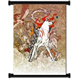 "Okami Game Fabric Wall Scroll Poster (16""x20"") Inches"