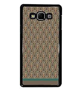 PrintDhaba Pattern D-1519 Back Case Cover for SAMSUNG GALAXY A8 (Multi-Coloured)