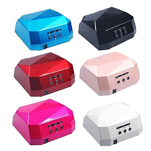 18Watt 220V Diamond Shape Style Led Lamp Nail Art Uv Gel Light Dryer