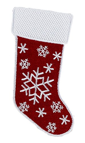 Application Holiday Stocking Patch