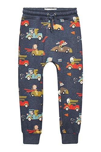 next-ninos-pack-de-dos-pantalones-de-chandal-pitillo-teja-azul-marino-3-meses-6-anos