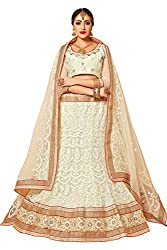 AASVAA Stylish White Embroide Lehenga Choli