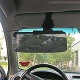 MATCC Car Van Shade Sun Visor tint sun shield Extension Glare Mirror Window Sunscreen
