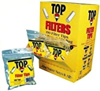 The Big Easy Cigarette Accessories C754P 100 Count Top Filter Plugs