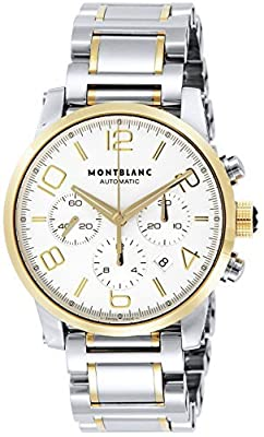 [Mont Blanc] MONTBLANC watch TIMEWALKER silver dial automatic winding stainless steel / stainless steel (YGPVD) 107320 Men's parallel import goods]
