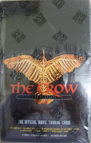 The Crow: City of Angels Official Movie Trading Card Hobby Box